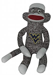 NCAA West Virginia Mountaineers Plush Sock Monkey