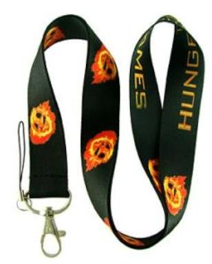 The Hunger Games Lanyard Keychain Holder