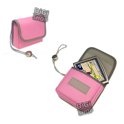 Pink Carry Case for TomTom ONE v2/v3/v4 (Europe & GB) 3rd/New Edition models