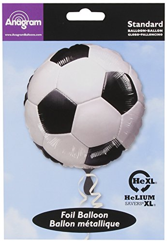 Anagram International A11704001 Championship Soccer Balloon Pack, 18""