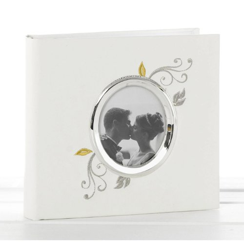 Beautiful Cream Wedding Day Photo Album frame - Fantastic Wedding Present / Engagement Gift