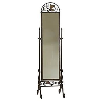 Metal Floor Standing Cheval Mirror