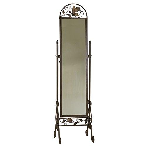 Metal Floor Standing Cheval Mirror 0
