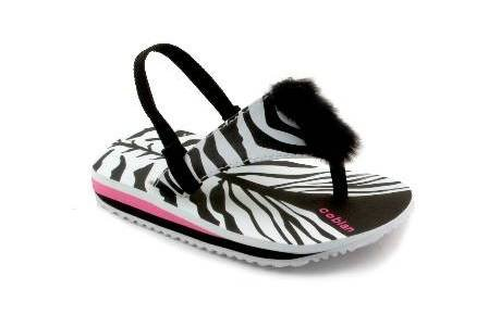 Cheap Cobian THE ZEBRA Toddler Sandals in Black (B000ZD1X8A)