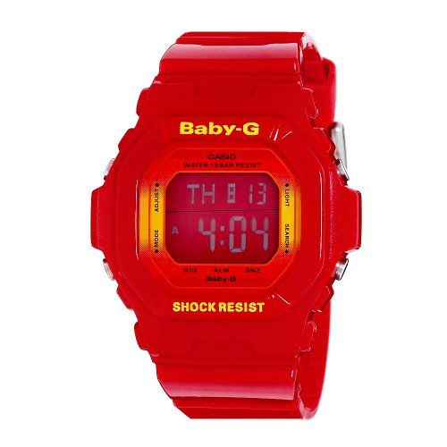 Casio Women's BG5600SA-4CR Baby-G Metallic Red Digital Sport Watch