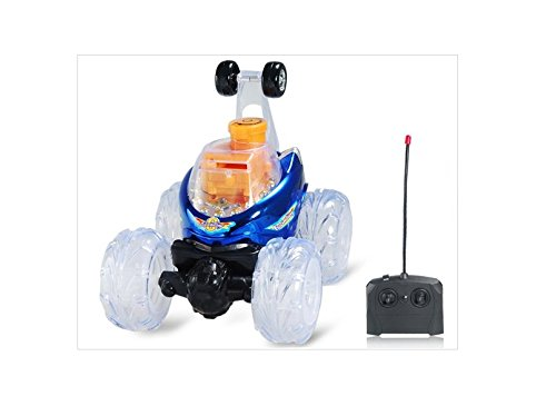 Rd312 Rechargeable Remote Control Car Rc Vehicles With Led Light & Music Effects (Blue)