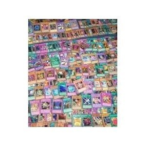 YuGiOh! MEGA Lot 100 Card Plus 4 Rares with Possible Random Holo Inserted!