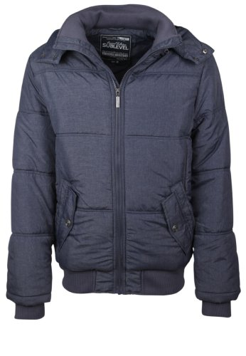 Sublevel Herren Winter Jacke Stepp