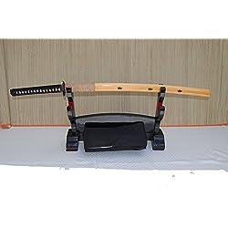 Gefaltetes Damaszener Samurai Schwert Katana TANAKA