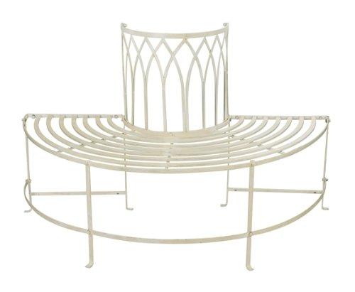 alium-trentino-steel-circular-garden-tree-seat-in-cream-half-circle