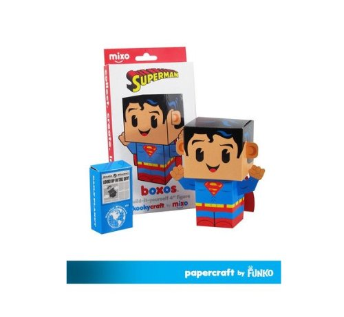 "Funko Papercraft DC Superman Boxos 4"" Figure"