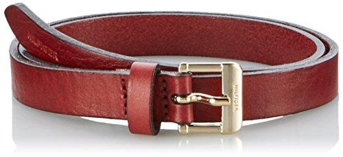 Tommy Hilfiger Lacey Jeans Slim Belt, Cintura Donna, Rot (Deep Cabernet 596), M