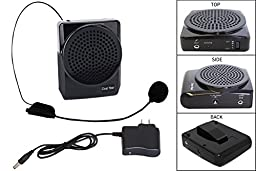 Personal Voice Amplifier - Portable Sound Speaker - Amplify Voice, Phone Electronic Device iPod or Laptop Computer - Great for Teachers or Crowds