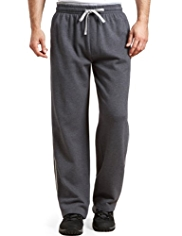 XXXL Soft Touch Pure Cotton Double Stripe Jogging Bottoms
