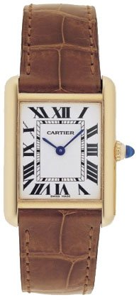 Cartier Tank Louis 18kt Yellow Gold Ladies Watch W1529856