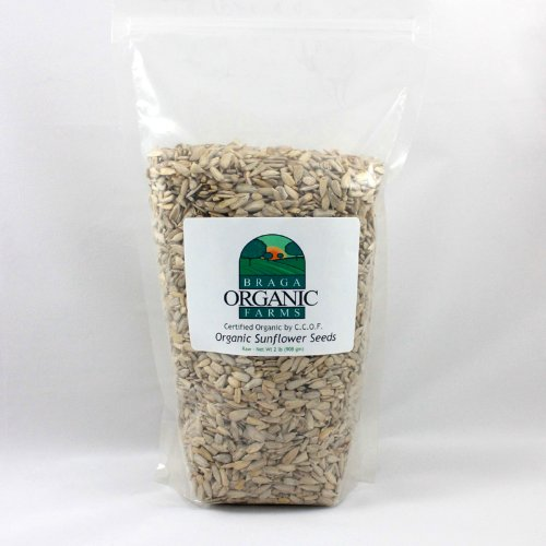 Braga Organic Farms Sunflower Seeds , Raw, 2 Pound (Sunflower And Pumpkin Seeds compare prices)