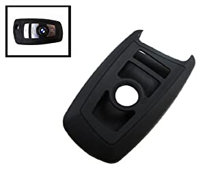Ijdmtoy 1 Black Soft Silicone Cover Case For Bmw 1 2 3 4 5 6 7 Series Smart Key Fob from iJDMTOY Auto Accessories