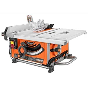 Factory Reconditioned Ridgid Zrr4516 10 In Portable Jobsite Table Saw Power Table Saws