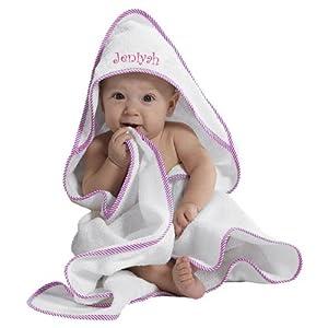 Amazon com jeniyah embroidery girl embroidered cotton white pink