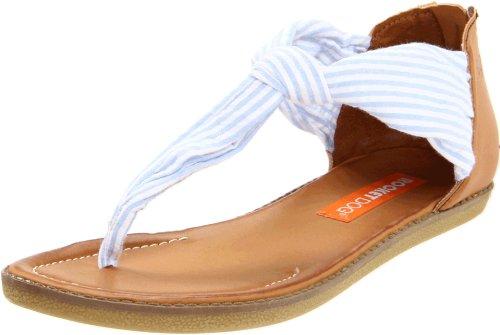 Rocket Dog Women's Shell Sandal,Blue Summer Stripe,10 M US
