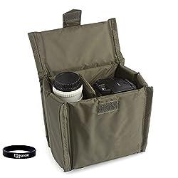 Eggsnow Universal Camera Liner Insert Partition Protective Bag Cover waterproof shockproof for SLR DSLR TLR camera 7