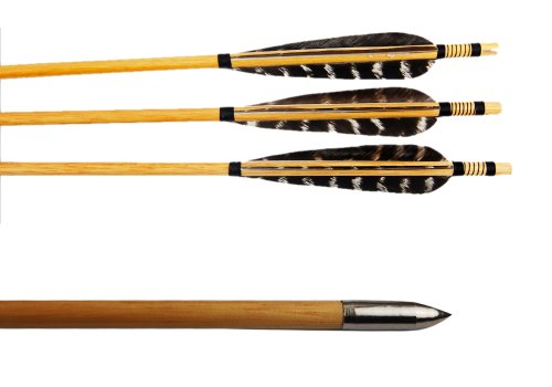 Buffalo Pure Handmade Wooden Arrows Archery Pheasant