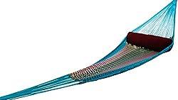 Hangit Mexican Brazilian Multi-color Nylon Rope Hammock swing