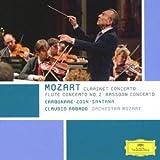 モーツァルト:クラリネット協奏曲、ファゴット協奏曲、フルート協奏曲第2番
