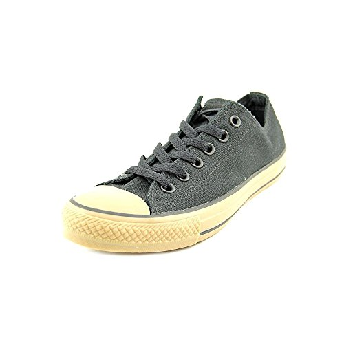 Converse Unisex All Star Chuck Taylor Ox Black/Gum Basketball Shoe 8 Men US / 10 Women US