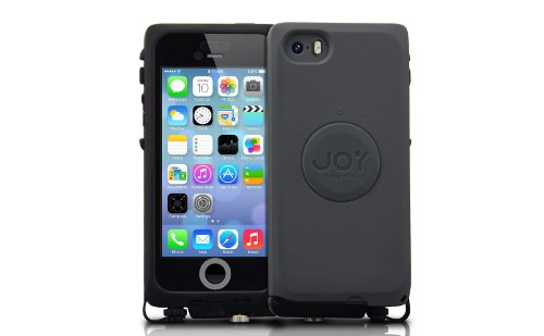 The Joy Factory aXtion Pro for iPhone 5 / 5S 防水 堅牢 ケース ( IP68 / MIL-STD-810G / ブラック & ダーク グレー ) CWD111