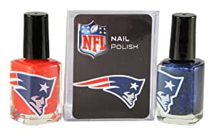 NFL New England Patriots Two-Pack Team Colored Nail Polish