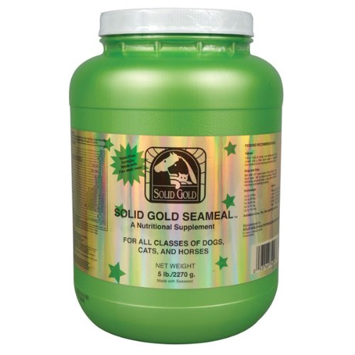 Solid Gold Seameal Natural Vitamin and Mineral Supplement for Dogs, Cats, and Horses (5-pounds)