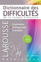 Dictionnaire des difficultés de la langue française