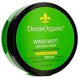 Dermorganic Windswept Defining Whip Hair Gel, 4 Ounce