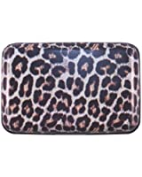 Women's Animal Print Aluminum Armored Wallet