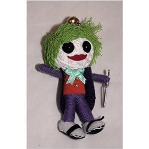 The Joker String Doll Keychain Ornament 2012 New Design!