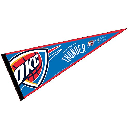 """Oklahoma City Thunder Pennant Full Size 12"""" X 30"""""""