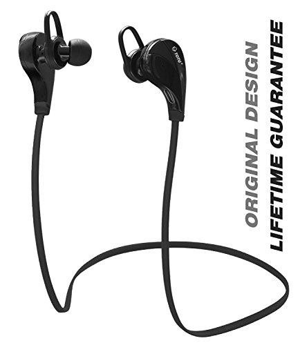 Bluetooth Headphones, TOTU Wireless Bluetooth Headphones Noise Cancelling Headphones w/ Microphone [ Gym / Running / Exercise / Sports / Sweatproof ] Wireless Bluetooth Earbuds Headset Earphones for Apple watch iPhone 6, 6 Plus, 5 5c 5s 4s,iPad Air,