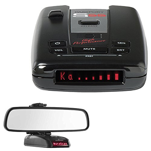 Escort Passport S55 High Performance Radar /Laser Detector with RadarMount Car Mirror Mount Bracket For Radar Detectors
