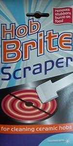 how to use hob brite scraper