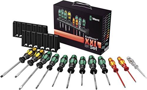 Wera 05051010001 Kraftform XXL - Juego de destornilladores, 12 piezas