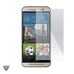 MoArmouz® - Super Tempered Glass Screen Protector for HTC ONE M9 - Cutting Edge Protection - Anti-Scratch Impact Shield Protector - Anti-scratch / Fingerprint resistant - Screen Guard / HD /9H Hardness 3D Touch Compatible / Mobile Accessories / Screen Protectors