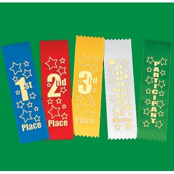"""3rd Place"" Award Ribbons Party Supplies"