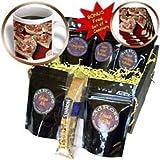 Sandy Mertens Valentine Designs - Valentine Heart Shape Cookies - Coffee Gift Baskets - Coffee Gift Basket