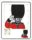 【ノーブランド品】 スライドパズル 「15パズル」 ロンドン 近衛歩兵