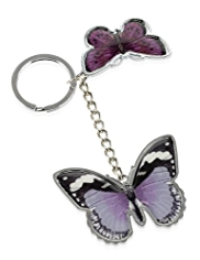 M&S Collection Butterfly Keyring
