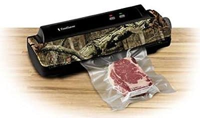 FoodSaver Vacuum Sealing System FM1000 Food Sealer, Mossy Oak Camo Camouflage, w/ Starter Kit (Certified Refurbished) by FoodSaver