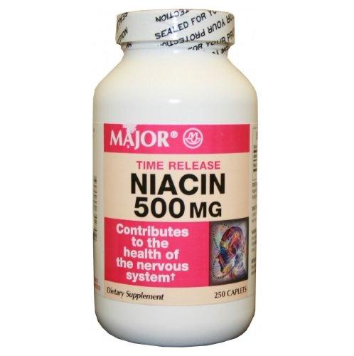 Niacin Time Release 500Mg 250Ct Bottle