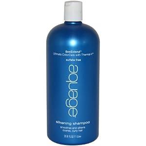 Aquage Silkening Shampoo, 33.8-Ounce Bottle