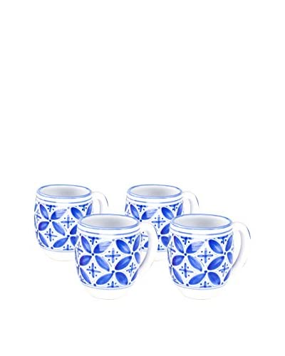 Sobremesa Set of 4 Fez Mugs, Blue